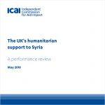 Integrity's Senior MEL Expert, Kathryn Rzeszut, wraps up work on ICAI's Syria Review