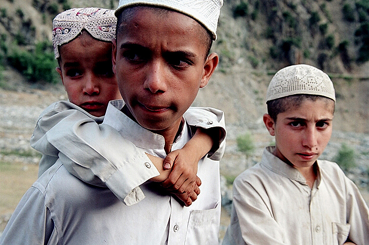 Pashtun Boys In Swat Valley