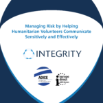 Managing Risk by Helping Humanitarian Volunteers Communicate Sensitively and Effectively