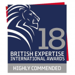 Integrity Receives Highly Commended at 2018 British Expertise Awards