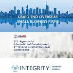 Integrity CEO and Director Business attend the USAID Small Business Conference in Frankfurt